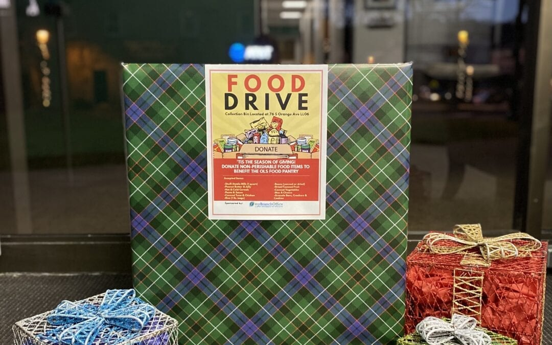 My Branch Office Sponsors a Holiday Food Drive