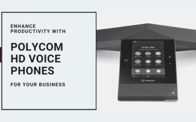 Enhance Productivity with Polycom HD Voice Phones for Your Business