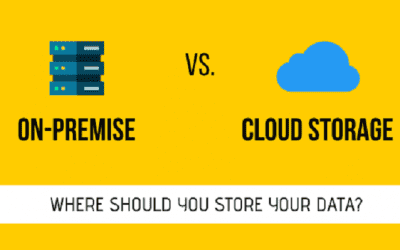 Where Should You Store Your Data? On-Premise vs. Cloud Storage